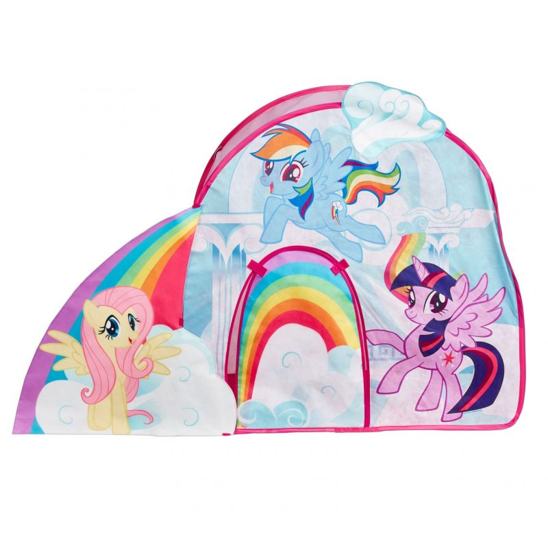 Dívčí stan do pokoje My Little Pony Duha 98 x 146 x 70 cm