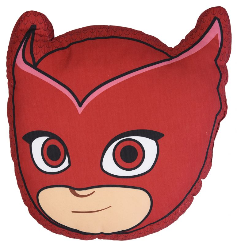 Dětský polštář Amaya / PJ Masks / Pyžamasky 40 x 31 cm