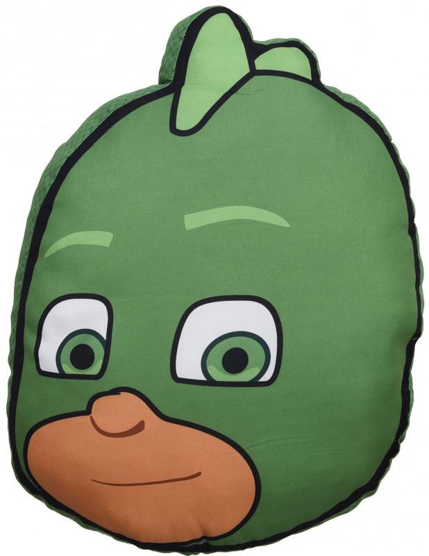 Dětský polštář Greg / PJ Masks / Pyžamasky 40 x 31 cm