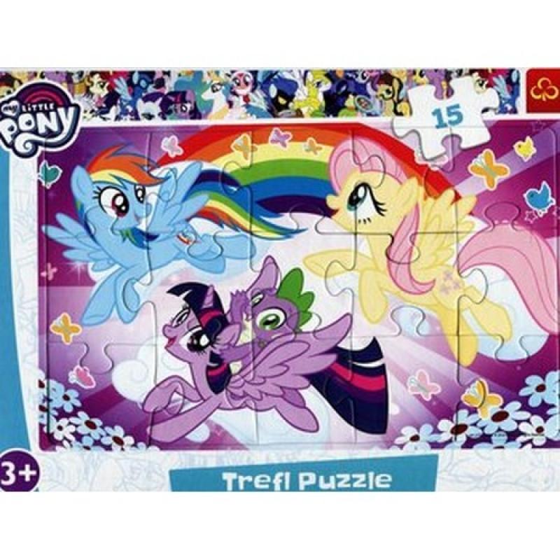 Hra puzzle My Little Pony / 15 dílků