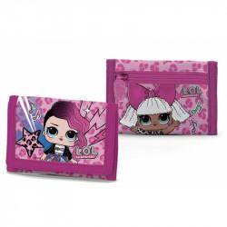 Látková peněženka LOL Surprise / 13 x 8 cm