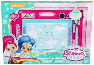 Magnetická tabulka Shimmer and Shine / 3 x 28 x 38 cm / veci z filmu
