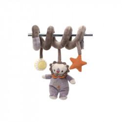 Plyšová figurka s chrastítkem spirálka Fisher Price / Lev / veci z filmu
