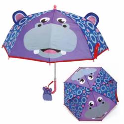 Manuální deštník pro děti Fisher Price / Hroch / 38 cm / veci z filmu