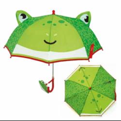 Manuální deštník pro děti Fisher Price / Žába / 38 cm