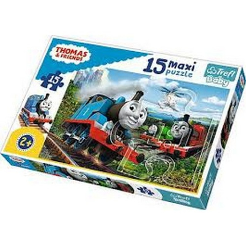 Hra puzzle Thomas And Friends / Mašinka Tomáš / maxi 15 dílků / veci z filmu