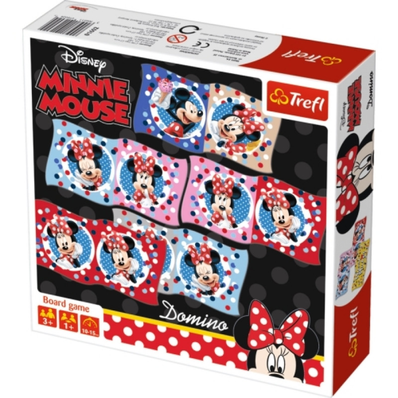 Hra domino Minnie Mouse