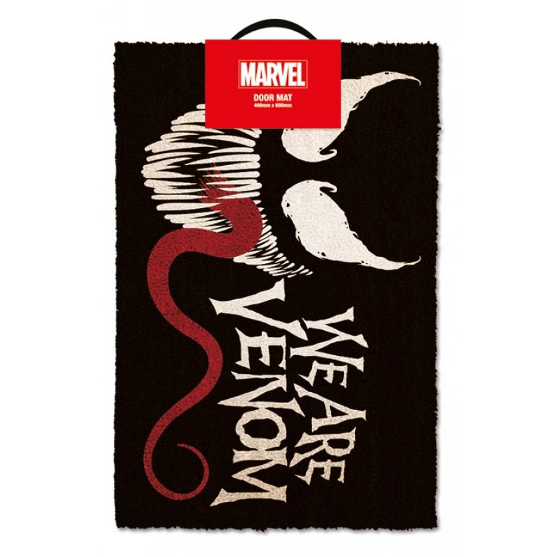 Dveřní rohožka Venom / we are venom / 40 x 60 cm