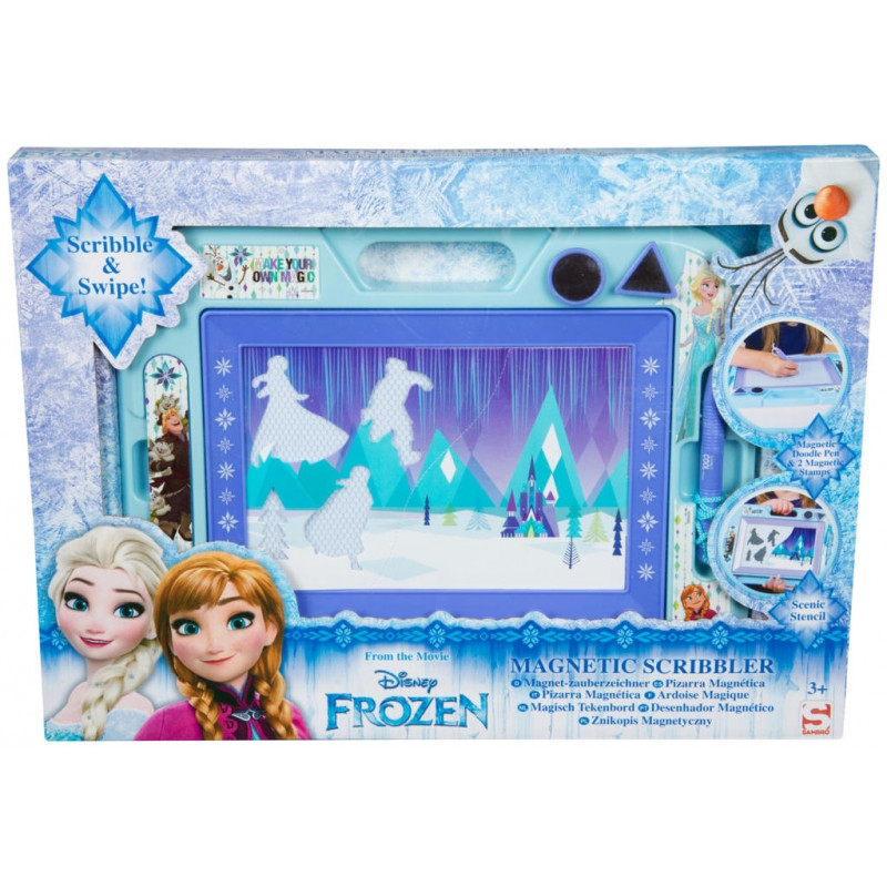 Magnetická tabulka Frozen / 3 x 28 x 38 cm