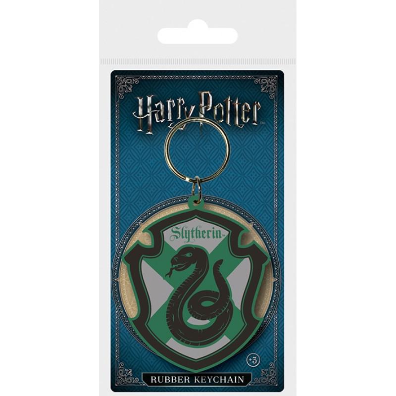 Klíčenka / Přívěšek Harry Potter / Slytherin / 4,5 x 6 cm / veci z filmu