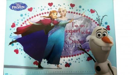 Podložka Na Stůl Frozen / Anna / Elsa / Olaf / 49,5 Cm X 34,5 Cm