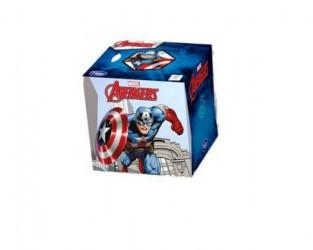 Kapesníky Avengers v krabičce 60 ks potiskem 3 vrstvé