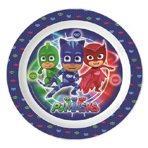 Plastový talíř PJ Masks / ⌀ 22 cm