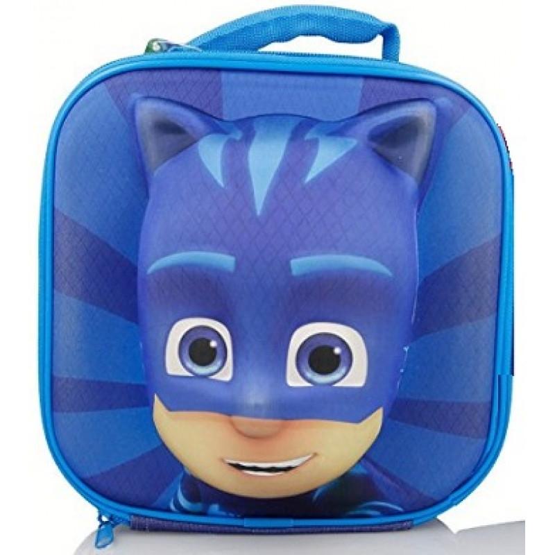 Taška / krabička na svačinu PJ Masks 3D / Connor  22 x 22 x 7,5 cm