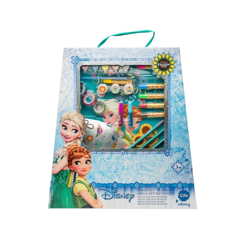 Výtvarný set velký Frozen / Ledové království /45 cm x 49 cm x 6 cm