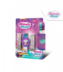 Digitální hodinky + náramky k vybarvení Shimmer and Shine / 12 x 17 x 7 cm / veci z filmu