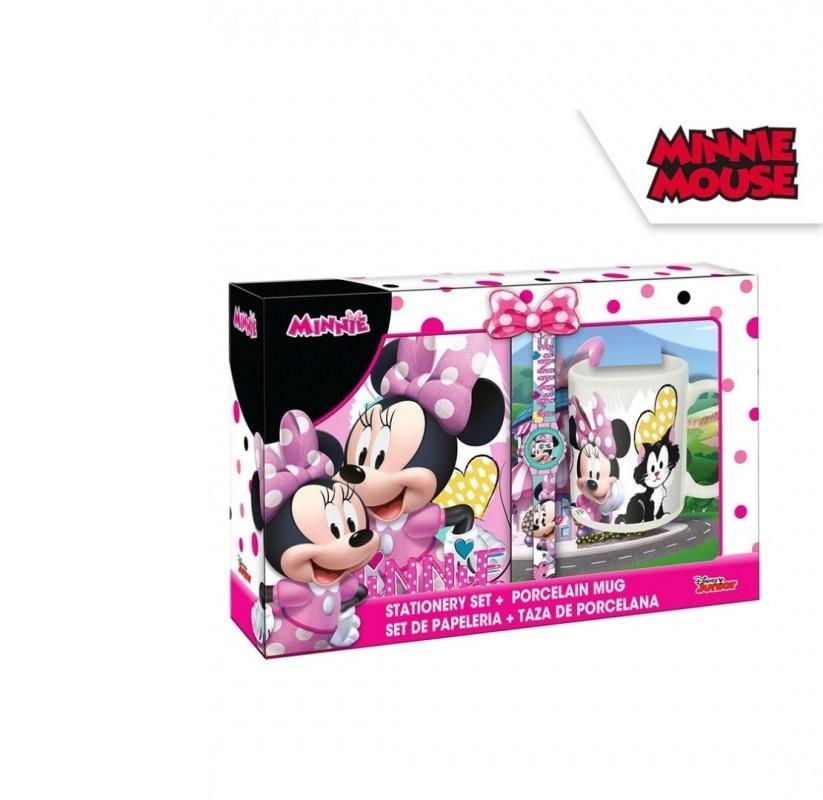 Dárková sada Minnie Mouse / diář, digitální hodinky, hrnek / 34 x 23 cm
