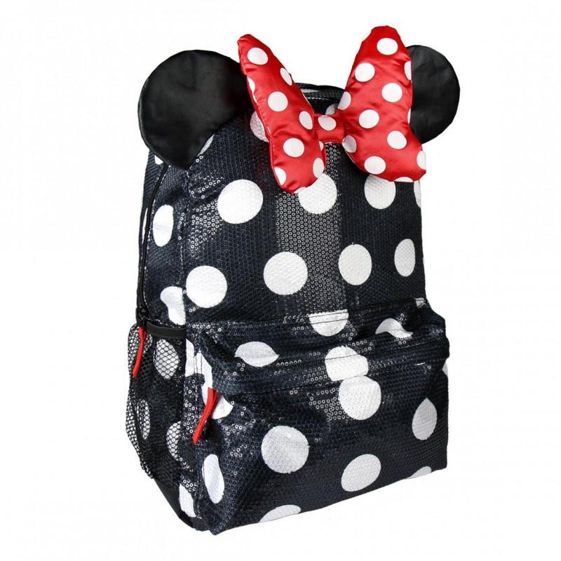 Batoh Minnie Mouse 3D / mašle / 30x 42 x 12 cm