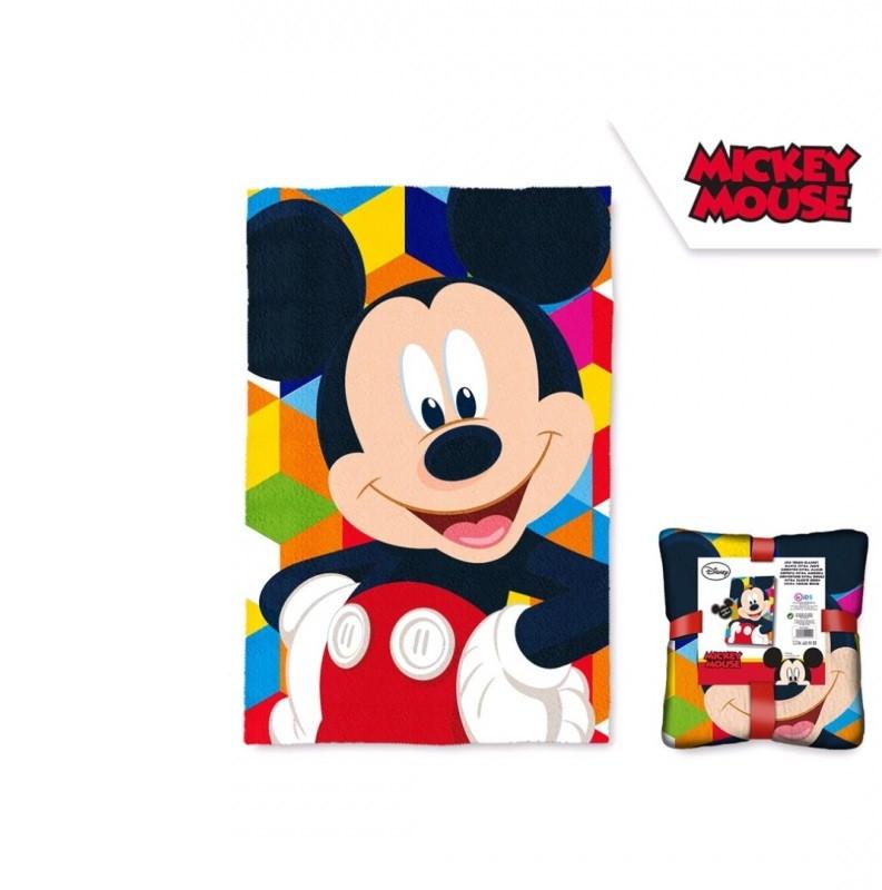 Fleecová deka Mickey Mouse / 100 x 150 cm