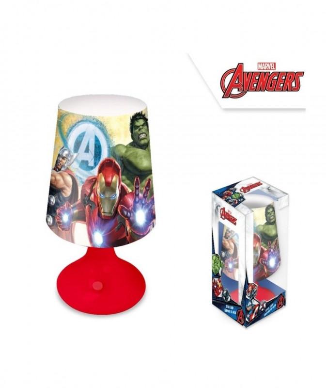 Stolní noční lampička Avengers / 20 x 9,5 cm