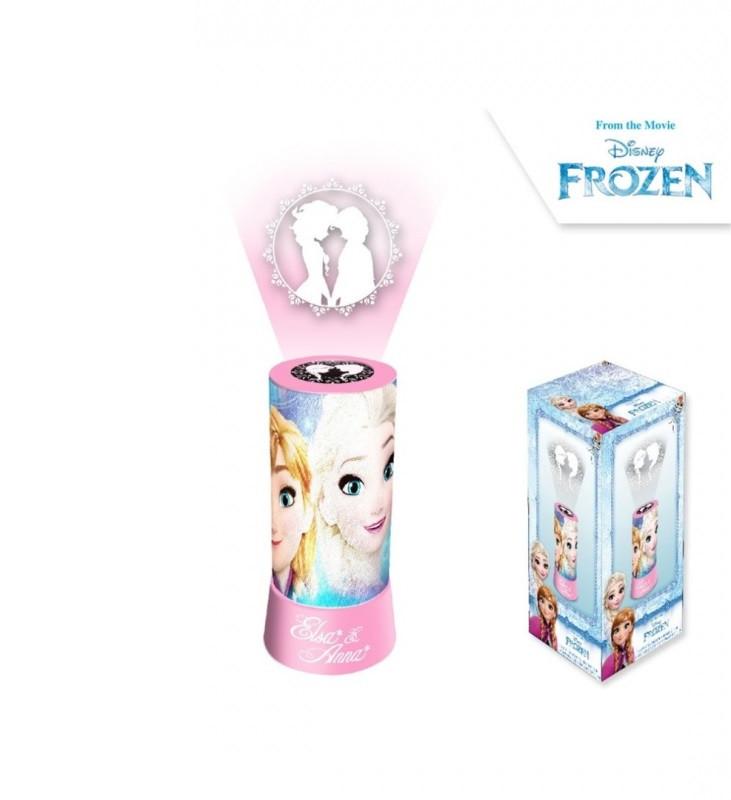 Stolní LED lampička s projektorem Frozen / 20 x 9,5 cm