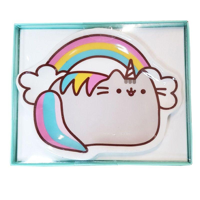 Keramická plytká mistička na mýdlo / šperky / drobné / klíče S Kočičkou Pusheen Unicorn
