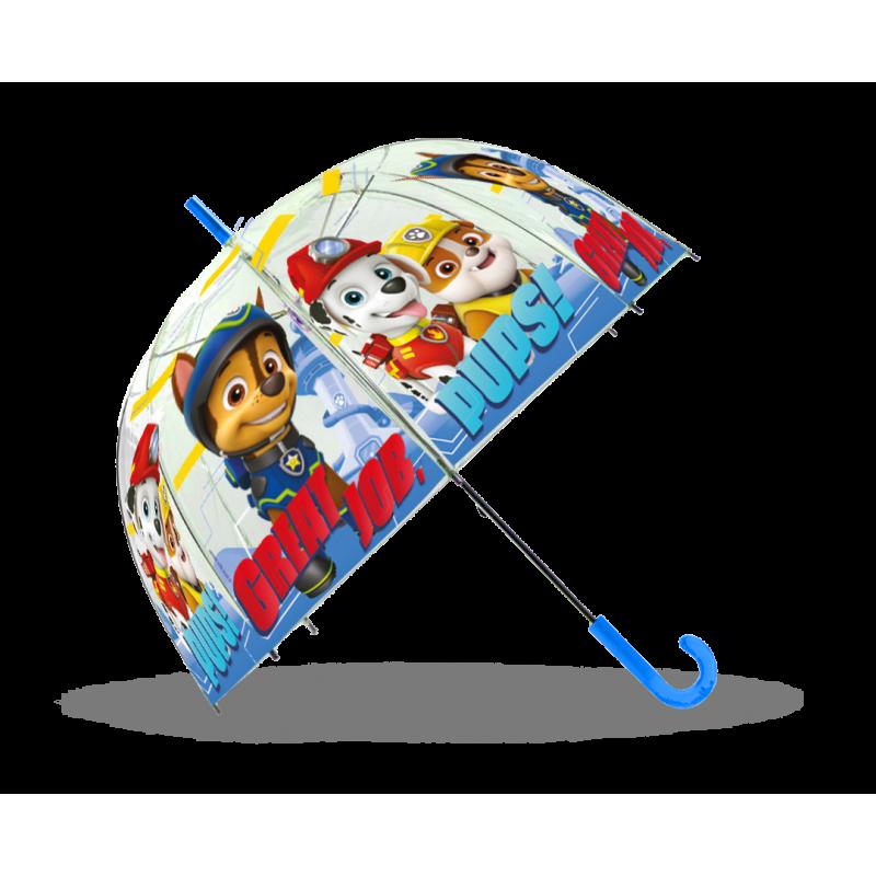 Manuální dětský deštník Paw Patrol / Tlapková patrola