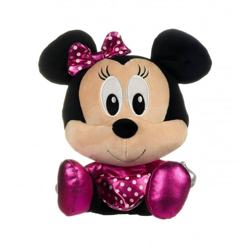 Plyšová figurka sedící Minnie Mouse / 30 cm