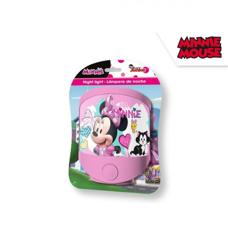 Lampička noční Minnie Mouse /  17 x 14 cm