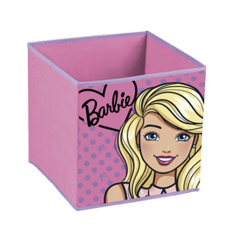 Úložný box Barbie / 31 x 31 x 31 cm