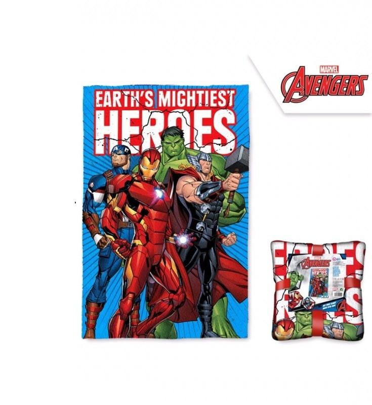 Fleecová deka Avengers / 100 x 150 cm