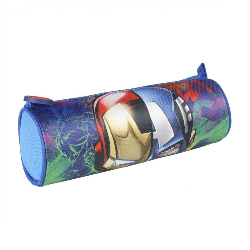 Penál / Pouzdro oválné Avengers / 21 x 7 cm