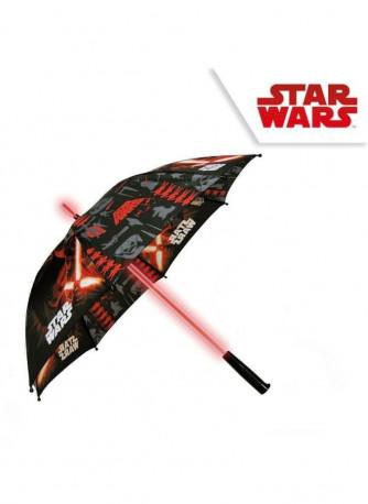 Deštník s LED světlem Star Wars / Hvězdné války / vecizfilmu