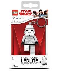 Přívěšek na klíče / batoh s LED světlem Lego Star Wars / Stormtrooper