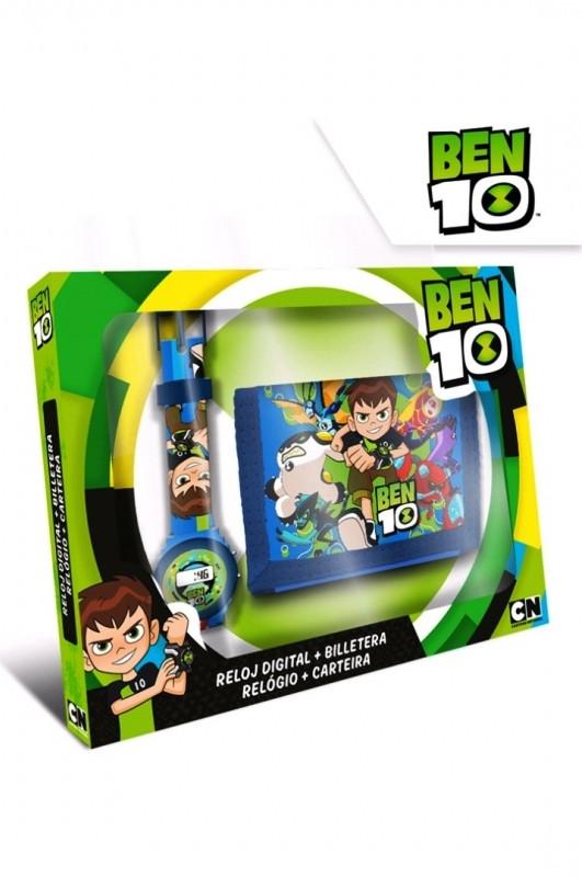 Chlapecká sada digitální hodinky a peněženka Ben 10 / vecizfilmu