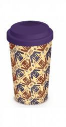 Cestovní porcelánový hrnek se silikonovým víčkem Harry Potter / Jumper 340 ml