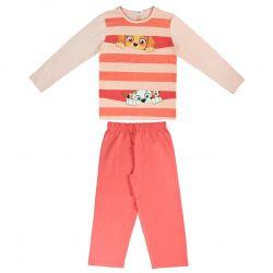 Dívčí růžové pyžamo s dlouhým rukávem Skye a Everest / Tlapková Patrola / Paw Patrol / vecizfilmu