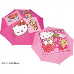 Dívčí automatický deštník Hello Kitty / 45 cm