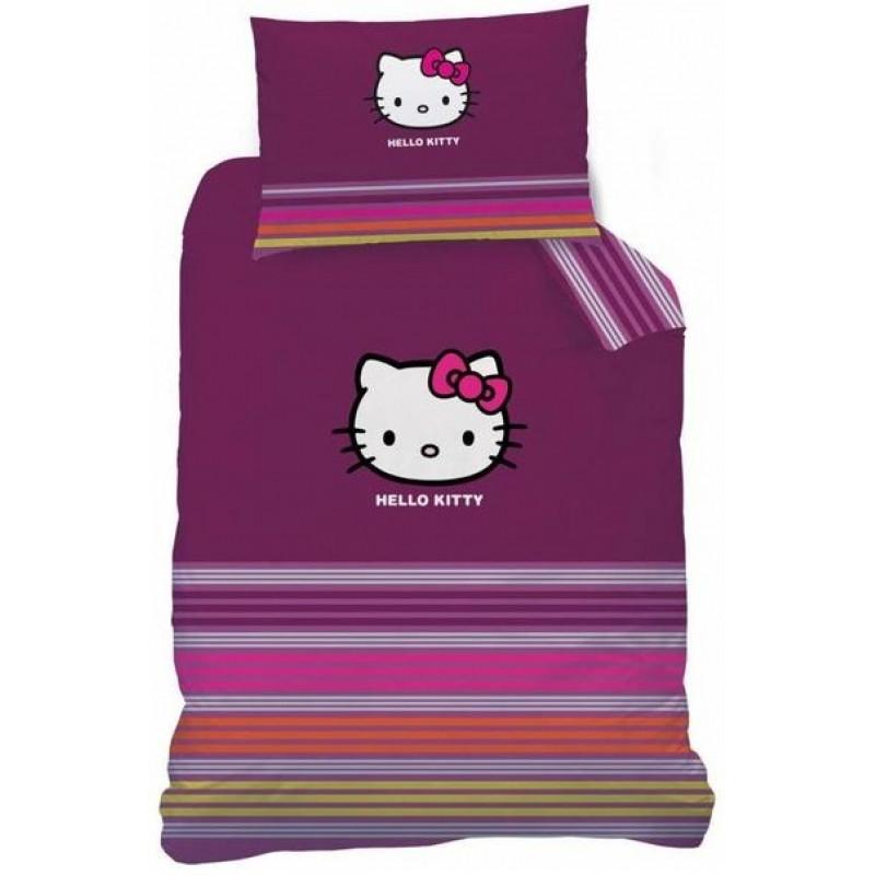 Bavlněné povlečení Hello Kitty / 160 x 200 cm