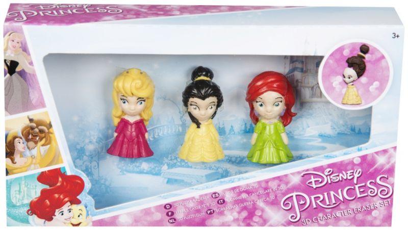 Gumové figurky Princess / Princezny 3D / 4 x 11 x 21 cm