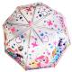 Průhledný manuální deštník My Little Pony / 48 cm / veci z filmu