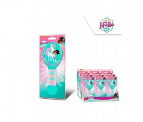 Kartáč na vlasy + gumičky Nella princezna rytířka / 13 cm / veci z filmu