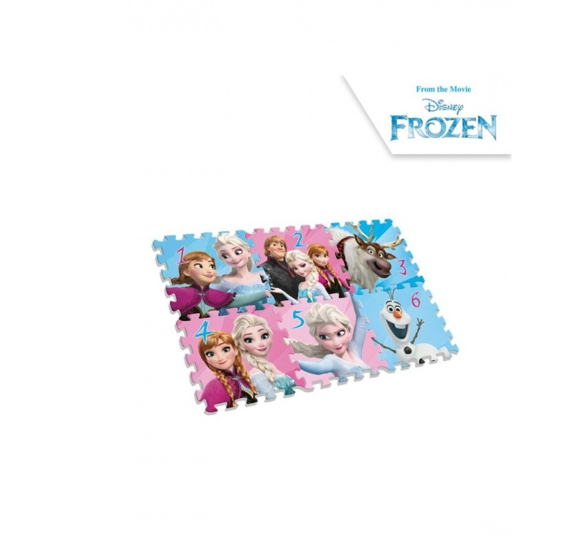 8f13726f8 dětské pěnové puzzle Frozen / Ledové království / 6 kusů / 90 X 60 X 8 CM