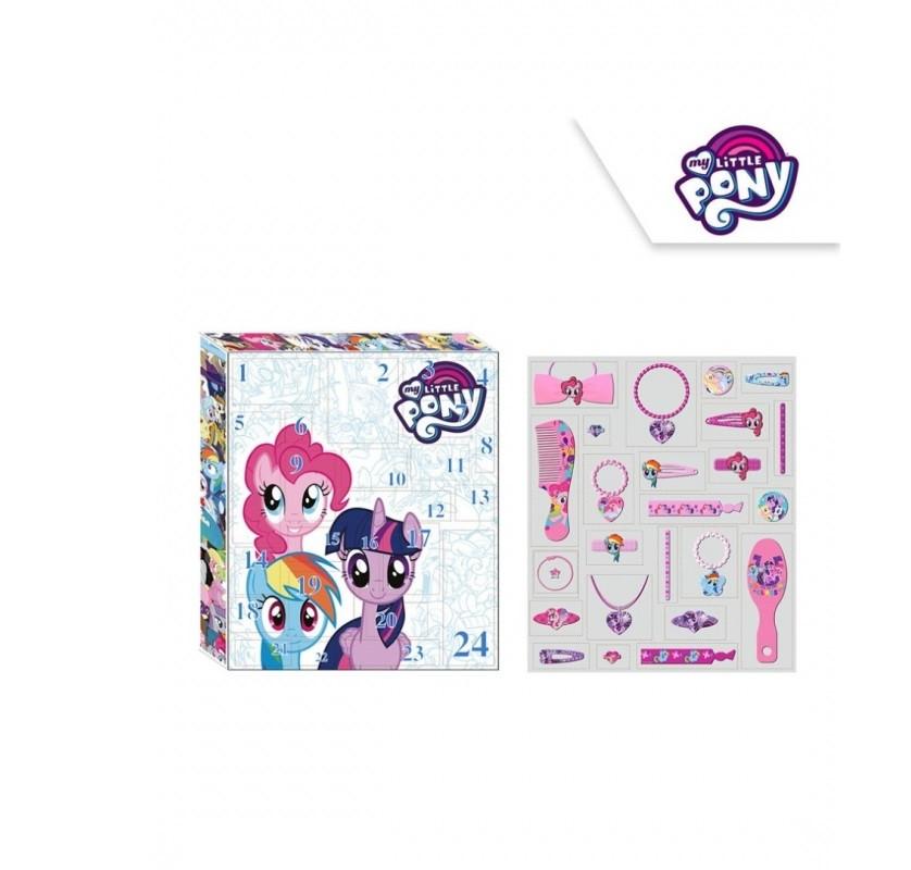 f7eddbfac45 Adventní kalendář My Little Pony   vlasové doplňky a bižuterie   veci z  filmu