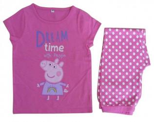 Dívčí bavlněné pyžamo s krátkým rukávem Prasátko Peppa / Peppa Pig Dream Time 3 - 5 let  / vecizfilmu