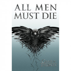 Plakát na stěnu Hra o trůny / Game of Thrones / All Men Must Die 61 x 91,5 cm / vecizfilmu