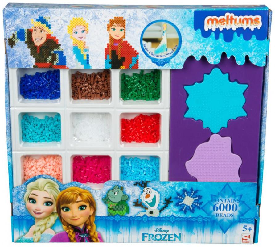 Sada plastových zažehlovacích korálků Ledové Království / Frozen 6000 ks