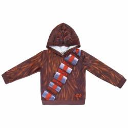 Chlapecká mikina s kapucí Hvězdné Války / Star Wars / Chewbacca 4 - 8 let  / vecizfilmu