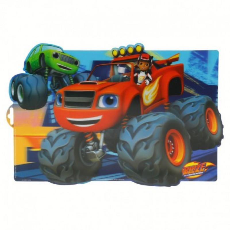 Jídelní / školní podložka Blaze and The Monster / 41 x 29 cm