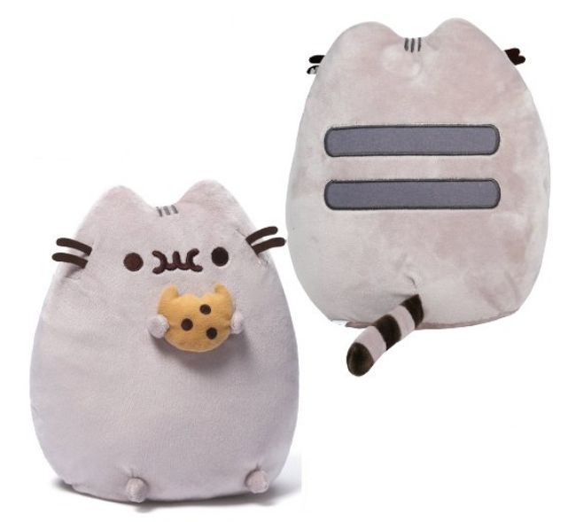 Plyšová kočička Pusheen s 3D sušenkou / Cookie 25 x 20 x 7 cm